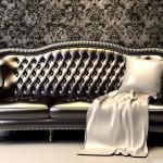 Luxus koženej sedačky